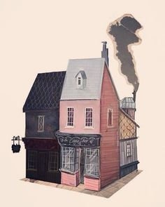 #illustration #houses