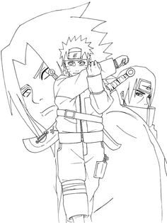 147 best naruto coloring pages images on Pinterest | White people ...