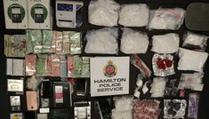 Hamilton police have seized roughly $1 million worth of drugs in one of the largest drug seizures in the city's history. Seizures, Hamilton, Drugs, Police, History, City, People, Law Enforcement, Historia