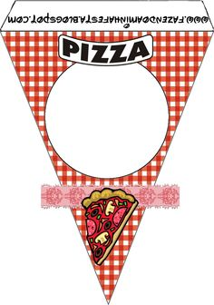 Pizza Party: Free Party Printables, Images and Papers.