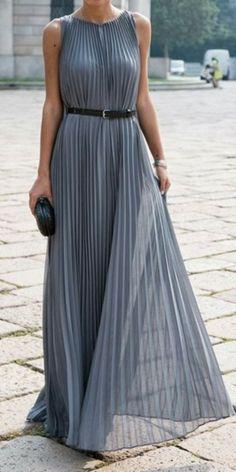 Sleeveless Flowy Maxi Dress