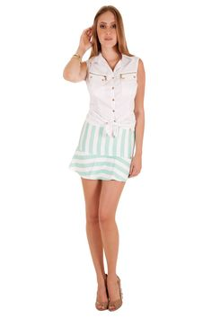 02499 - Camisa   03332 - Saia