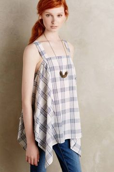 Plaid Swing Tunic by Holding Horses