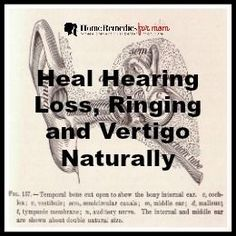 """New studies show that we can sometimes heal hearing loss and ringing in the ears naturally with certain nutrients and with simple """"maneuvers"""" we can help vertigo. The right nutrients can restore damaged hair cells, repair noise-induced hearing loss, increase circulation to our ears, improve auditory nerve function, and even silence ringing and buzzing."""