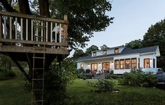 When Mary and Tom Albright were looking to downsize, their Realtor showed them the 1887 York Village train depot, which had been converted into a three-bedroom house in the 1970s. At 1,800 square feet — a third the size of their last place — it was a daunting readjustment, but the Albrights' tickets were punched.   📷 Trent Bell