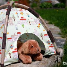 Mini Play Tent Pattern {For Kids but would be great for Pets, too!}