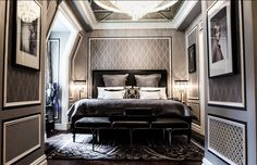 Take a tour through the magnificent Gatsby inspired suite at The Plaza Hotel