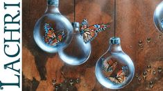 In this time lapse painting tutorial I demonstrate how to paint a surreal butterfly and lightbulb acrylic and airbrushed painting. The butterflies in this pa...
