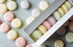 Love Heart Macaron Recipe by Graham Hornigold