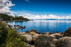 Lake Tahoe Nevada [OC] [3872  2581]