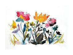 island wildflowers no.2 Limited Edition Art Print by Kiana Mosley | Minted