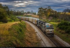 RailPictures.Net Photo: NS 9770 Norfolk Southern GE C40-9W (Dash 9-40CW) at Norris, South Carolina by Peter Lewis