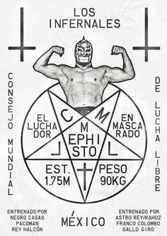 poster de lucha libre mexicana