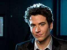 Josh Radnor, Ted Mosby from How I Met Your Mother...I've written Mrs. Josh Radnor on paper a bazillion times :D