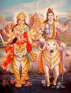 Parvati | Shiva and Parvati