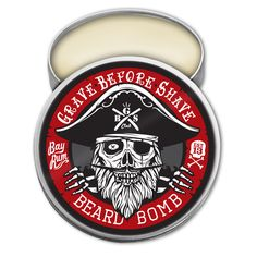 GRAVE BEFORE SHAVE BAY RUM BEARD BOMB