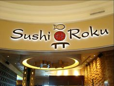Best Japanese/Sushi Restaurant in Vegas is at Sushi Roku's at The Forum Shops at Caesars Palace Las Vegas.