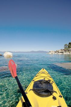On this list again for the year! I want to expand beyond Tahoe :) Lake Tahoe kayaking. The best way to cruise the shoreline. Bass Fishing Videos, White Water Kayak, Lake Tahoe Vacation, Kayaking Tips, Reno Tahoe, Fishing Photography, Kayak Tours, Kayak Camping, Fish Camp