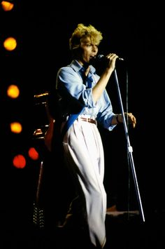 David Bowie, Let's Dance, Aschaffenburg, 1983 | Flickr - Photo Sharing!