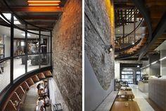 Surry Hills, Fluorescent Lamp, Building Exterior, Good House, Built Environment, Cafe Bar, Architect Design, Sustainable Design, Restaurant Design