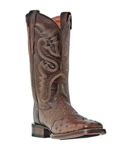 "$300.95  Women's Rebel Flag - A1177  $227.95  Corral     Tobacco Full Quill Ostrich Foot      11"" Leather Height      Saddle Vamp      Fully Leather Lined      Cowboy Certified GEL-FLEX Insole      Double Stitched Welt      Broad Square Toe      Cowboy Certified Outsole      Stockman Heel"