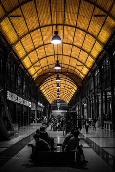"""Poland  Damian Reluga za zdjęcie wrocławskiego dworca czyli """"komunikacyjne serce miasta - stary duch w nowym ciele"""" - zdjęcie"""