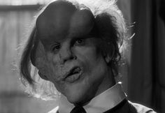John Hurt, 'The Elephant Man' One of film's most amazing achievements in makeup, David Lynch's Elephant Man turned British actor John Hurt into Joseph Merrick, the terribly disfigured Englishman who gained notoriety as a human curiosity during the mid-1800s.