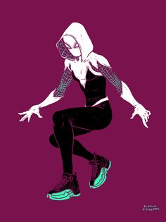 """I dig that Gwen Stacy Spider-Woman design""- Ramon Villalobos"