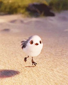 Piper is so adorbs! Pixar short movie Piper playing before Finding Dory on June Disney Pixar, Disney Animation, Disney And Dreamworks, Disney Magic, Disney Art, Disney Movies, Walt Disney, Animation Film, Bisous Gif