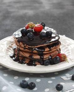 Panquecas de Chocolate / Chocolate Pancakes