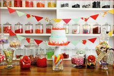 Fun Candy Buffet