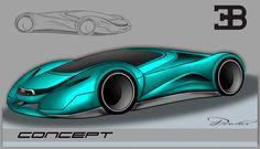 Bugatti Concept by ovidiuart on DeviantArt