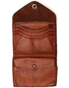 RRL leather wallet  contextclothing.com