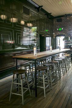 bar seating- high top