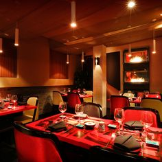 The Geisha - Shanghai, China Restaurant, Bar and Club interior design by RED