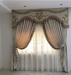 Dining Room Curtains, Curtains And Draperies, Luxury Curtains, Elegant Curtains, Beautiful Curtains, Modern Curtains, Custom Curtains, Valances, Drapes Curtains