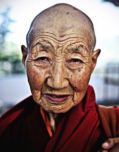 Female Buddhist Monk by Rahul Karan, via 500px
