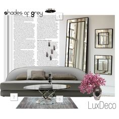 """Shades Of Grey"" by black-rose-oara on Polyvore"