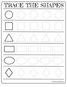 Free printable shapes worksheets for toddlers and preschoolers. Preschool shapes activities such as find and color, tracing shapes and shapes coloring pages. toddlers and preschoolers Free printable shapes worksheets for toddlers and preschoolers Preschool Forms, Preschool Prep, Preschool Writing, Preschool Learning Activities, Free Preschool, Preschool Lessons, Kids Learning, Shape Worksheets For Kindergarten, Shapes Worksheet Preschool