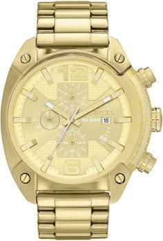 Diesel 'Overflow' Chronograph Bracelet Watch, x Stainless Steel Watch, Stainless Steel Bracelet, Liverpool, Diesel Watches For Men, Black Diesel, Watch Sale, Cool Watches, Women's Watches, Watches Online