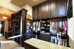 North Richland Hills, Highland Village, Custom Closets, Master Closet, Home Office, Dallas, Furniture, Design, Home Decor
