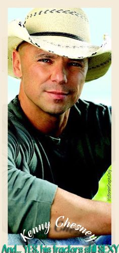 Kenny Chesney...close-up ;)