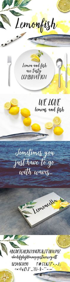 Lemonfish. Wedding Card Templates
