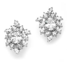 Annabelle Cubic Zirconia Stud Earrings