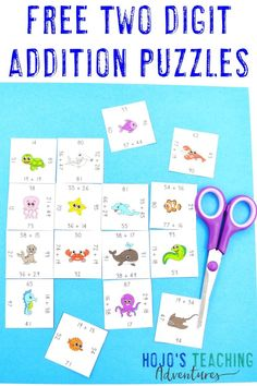 Get your FREE Addition Magic Square Puzzles now! Perfect for grade teachers thanks to the differentiated versions available! Free Puzzle, Magic Squares, 4th Grade Classroom, Test Prep, Learning Games, Elementary Education, Teacher Pay Teachers, Critical Thinking, Math Centers