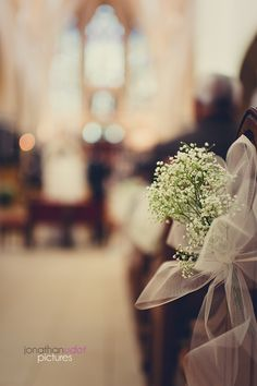 gypsophile église mariage wedding