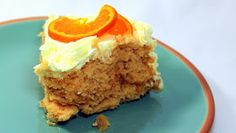 Inspired By eRecipeCards: Almost Healthy ORANGE SUPREME CAKE - My Wife COOKS!!!