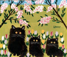 Folk Artist Maud Lewis from Nova Scotia. Click for a brief biography and more of her work...