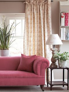 Sprig - A delightful rosebud design – works beautifully with many of our designs of similar colours.
