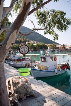 Vasiliki Harbour, Lefkada, Greece <3